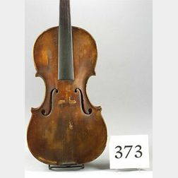 American Violin, possibly Walter Solon Goss