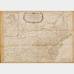 (North America, Revolutionary War), Sayer, Robert & Bennett, John