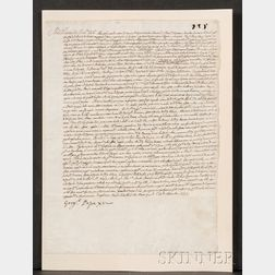 (Papal Document), Pope Gregory XV (1554-1623)