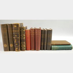 Civil War Lot, Twelve Volumes:
