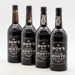 Dow's Vintage Port 1977, 4 bottles