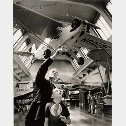 Philippe Halsman (American, 1906-1979)      Lot of Five Scenes from the Henry Ford Museum, Michigan.