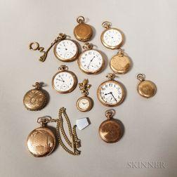 Twelve American Watches