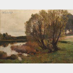 Joseph Rummelspacher (German, 1852-1921)      Quiet Shore