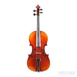 Modern German Viola, W.K. Fuchs, Eltersdorf-Erlangen