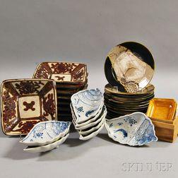 Group of Japanese Ceramics
