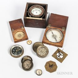 Collection of Compasses and Sundials