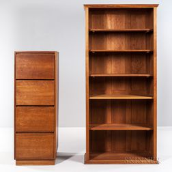 Thomas Moser Bookcase and a File Cabinet