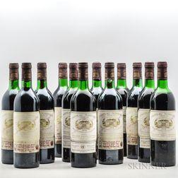 Chateau Margaux 1978, 12 bottles (owc)