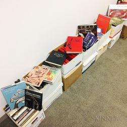 Thirteen Boxes of Gun-related Books
