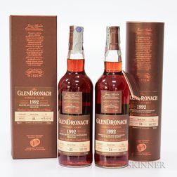 Mixed Glendronach, 2 70cl bottles (oc)