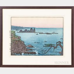 Framed Toshi Yoshida Print