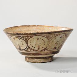 Kashan Lustre Pottery Bowl