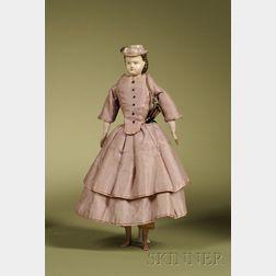 Holze-Masse Lady with Molded Hat