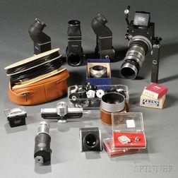 Assortment of German Camera Accessories