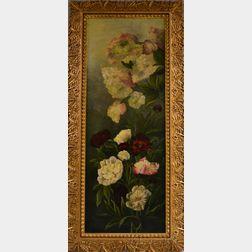 Bertha Vara (Mowry) Morse (American, b. 1864)      Hydrangea and Peonies