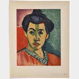Matisse, Henri (1869-1954) Portraits.