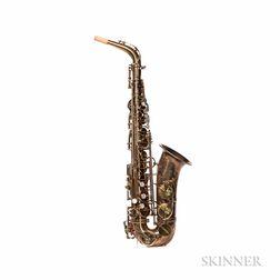 Alto Saxophone, Selmer Mark VI, 1954