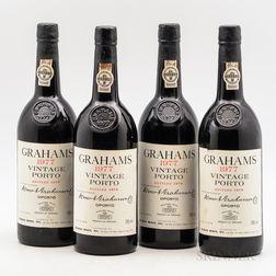 Graham's Vintage Port 1977, 4 bottles