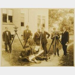 Photograph of a Surveying Class