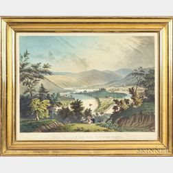 Currier & Ives, publishers (American, 1857-1907)    The Valley of the Susquehanna.