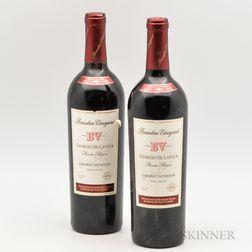 Beaulieu Vineyard Georges de Latour Private Reserve 1991, 2 bottles
