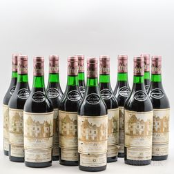 Chateau Haut Brion 1978, 12 bottles