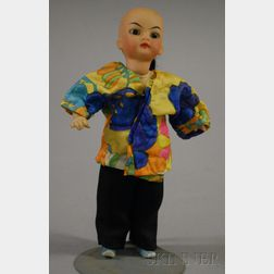 Bisque Shoulder Head Asian Doll