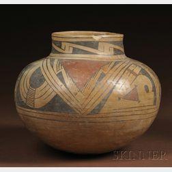 Casas Grande Polychrome Pottery Olla