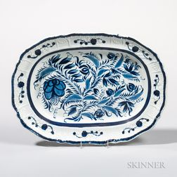 Molded Pearlware Platter