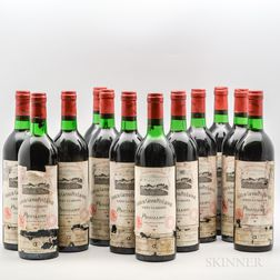 Chateau Grand Puy Lacoste 1978, 12 bottles (owc)