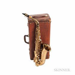 Alto Saxophone, C.G. Conn Connstellation 28M, 1950