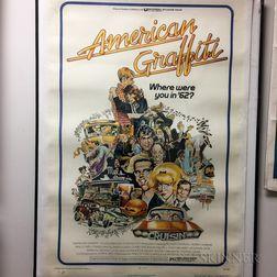 American Graffiti One-sheet Movie Poster