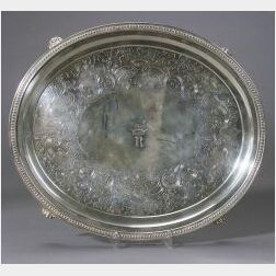 Jones, Ball and Poor Coin Silver Salver