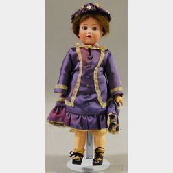 Cuno & Otto Dressel Bisque Head Doll