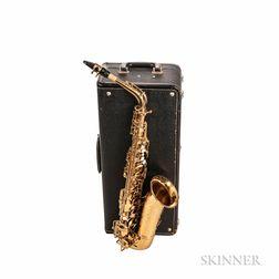 "Alto Saxophone, Selmer Super Sax ""Cigar Cutter,"" 1931"