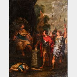 After Peter Paul Rubens (Flemish, 1577-1640)      The Fortitude of Scaevola