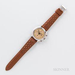 "Rodania ""Geometer"" Stainless Steel Chronograph Wristwatch"