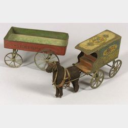Two Tin Vehicles