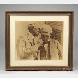 Edison & Ford Photograph