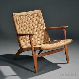 Early Hans Wegner (1914-2007) Easy Armchair