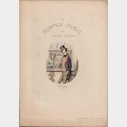 Dickens, Charles (1812-1870) Frederick W. Pailthrope (1838-1914) Five Illustrations.