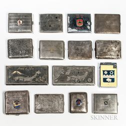Group of Korean War-era Cigarette Cases