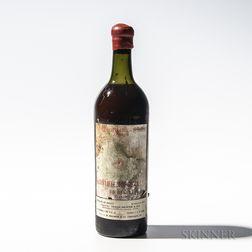 Chateau Leoville Las Cases 1878, 1 bottle