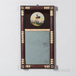 Painted Split-baluster Mirror