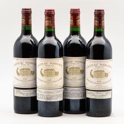 Chateau Margaux 1995, 4 bottles