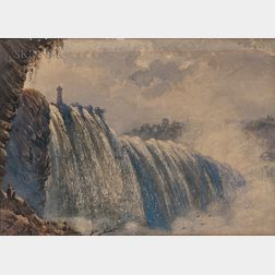 Hudson River School, 19th Century      Niagara
