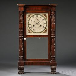 Curtis & Clark Miniature Shelf Clock