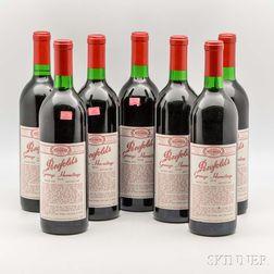 Penfolds Grange Hermitage 1986, 7 bottles