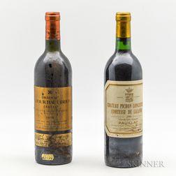 Left Bank Bordeaux, 2 bottles